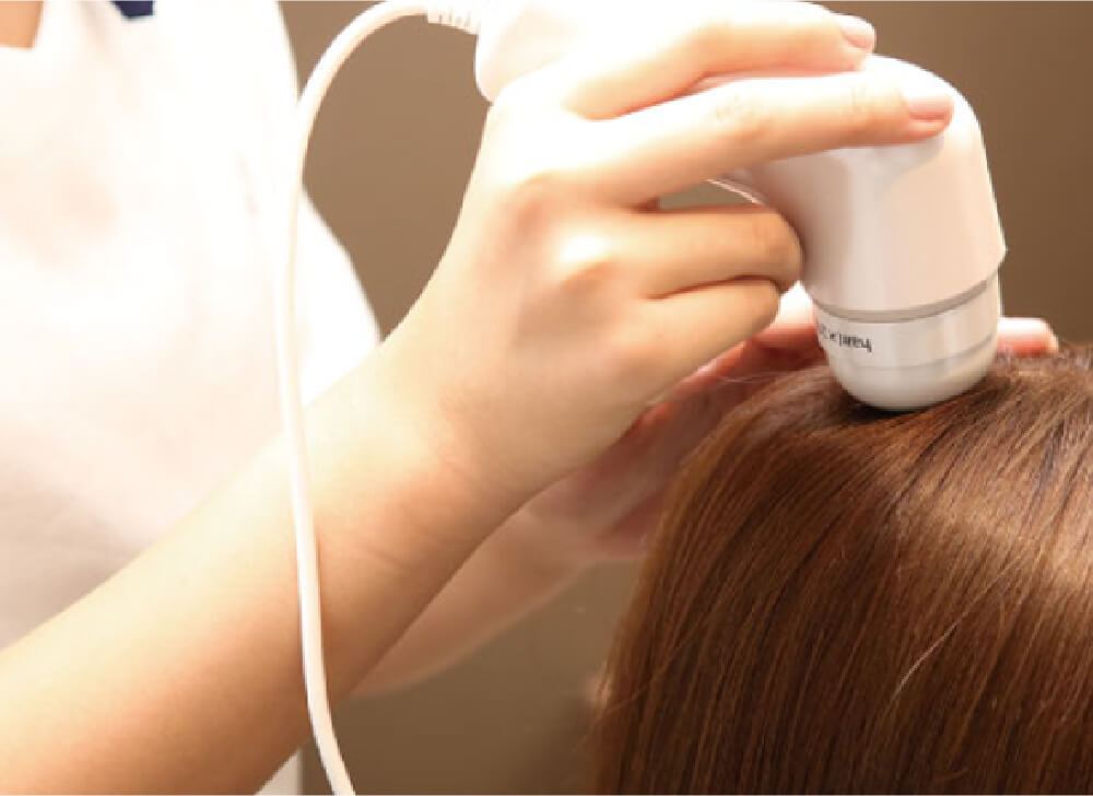 まるで髪のレントゲン「マイクロスコープカウンセリング」