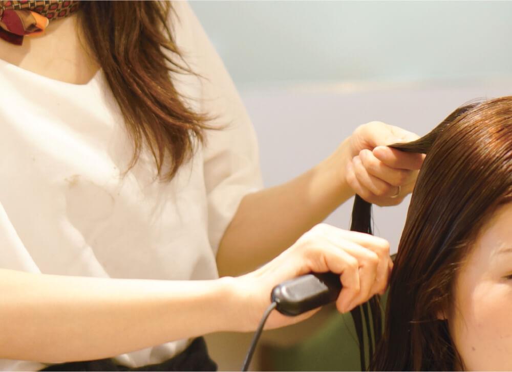 トリートメントは栄養成分。美髪エステは「25倍の美容成分」