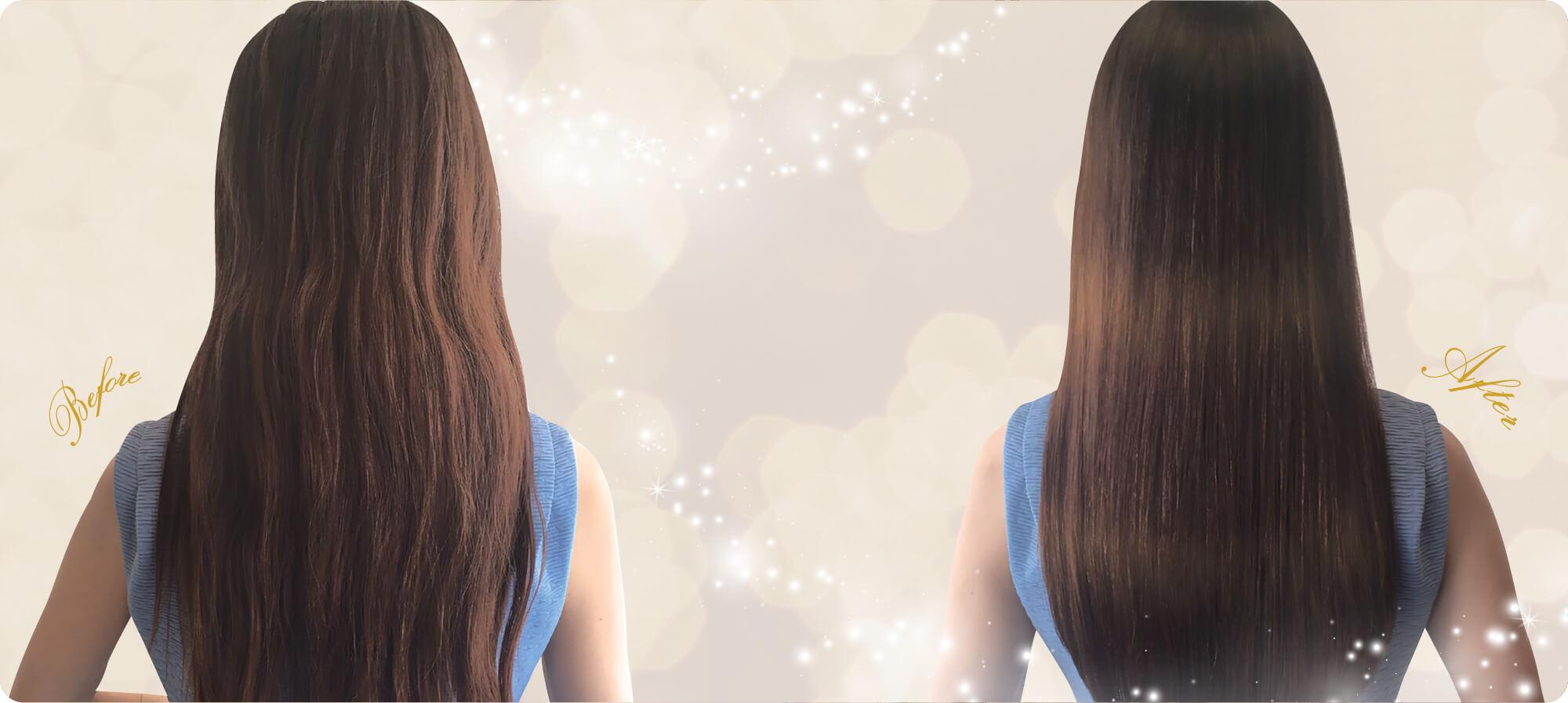 美髪エステ通えば通うほど美しい